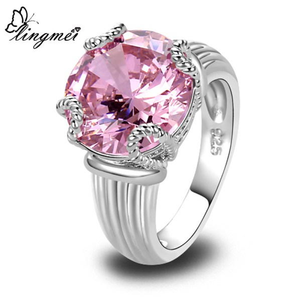 ring-ladies-sterling-silver-plated-sweet-lady-round-cut-pink-topaz