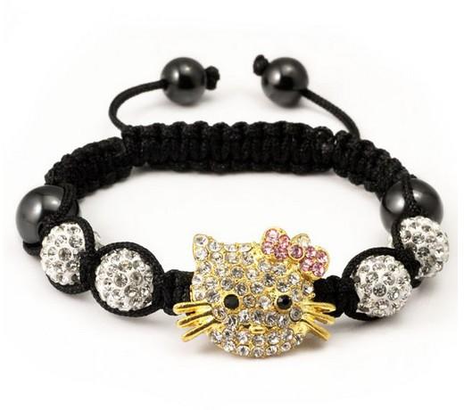 Free-shipping-High-Quality-Micro-Pave-White-SLE-Beads-pink-Hello-kitty-Bangles-Crystal-Shamballa-Bracelet_jpg_640x640