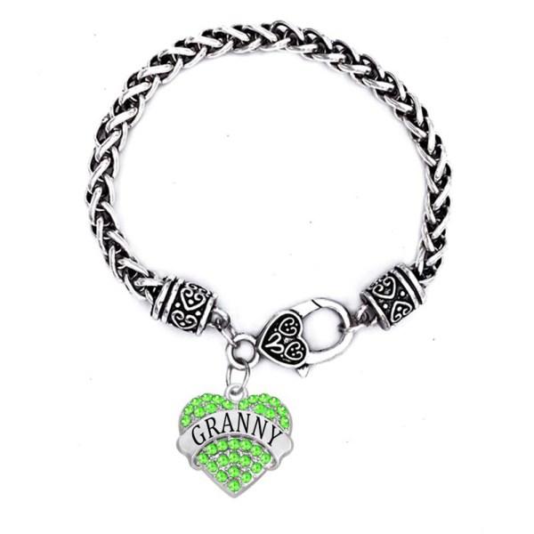 New-Fashion-Aliexpress-Drop-Shipping-Rhinestone-Hearts-Granny-Charms-Bracelets