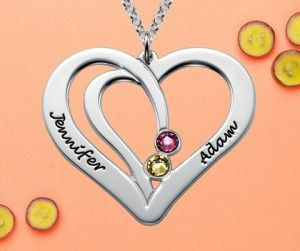 necklace-couples-sterling-silver-personalised-birthstone-engraved-couples