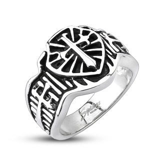 ring-mens-stainless-steel-knight-cross-shield-cast