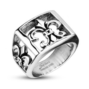 ring-mens-stainless-steel-wide-cast-fleur-de-lis