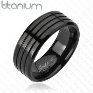 ring-mens-titanium-black-IP-multi-groove-band