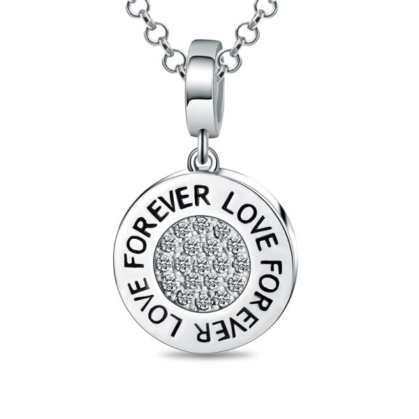 Custom-Round-Photo-Pendant-Necklace-Sterling-Silver-Love-Forever-Photo-Pendant