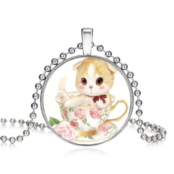 2-Chains-High-Quality-Girls-Silver-Plated-Cute-Cat-Glass-Pendant-Necklace-For-Women-Hot-Sale_jpg1