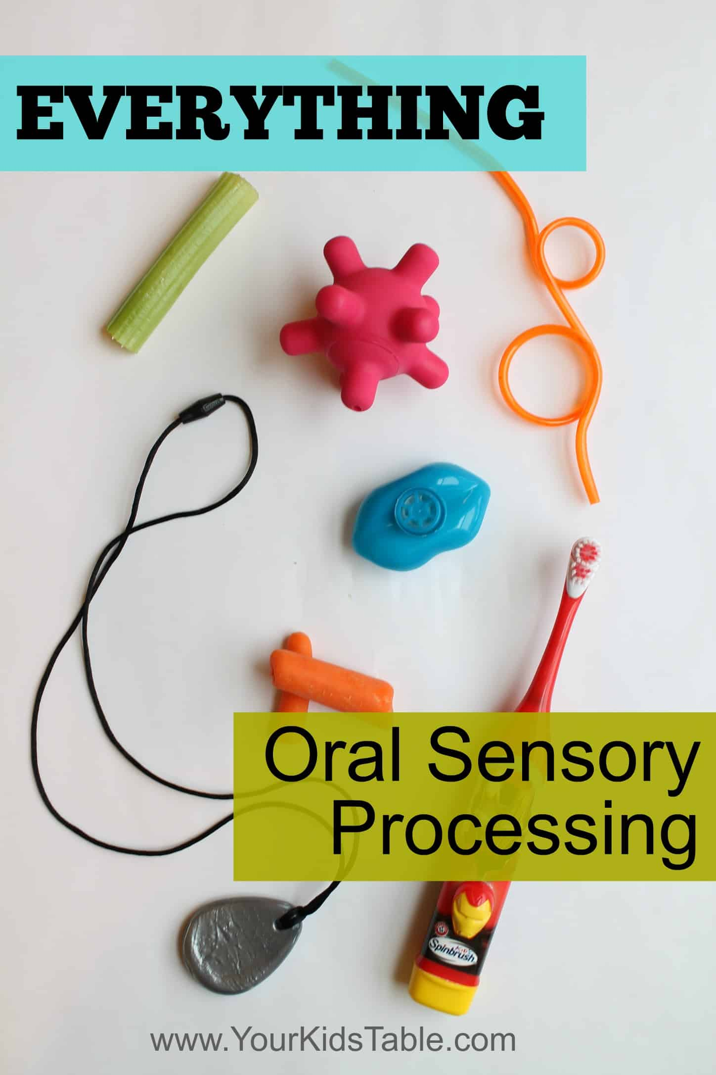 hight resolution of Everything Oral Sensory: The Total Guide - Your Kid's Table
