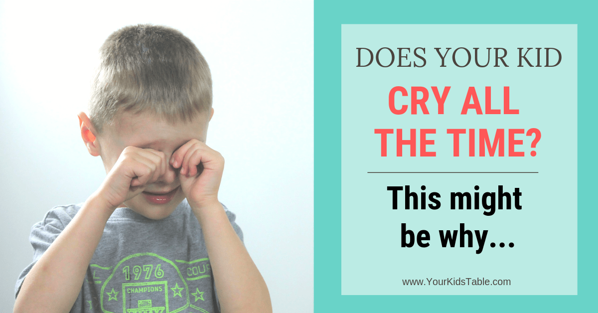 Does Your Child Cry all the Time? This might be why ...