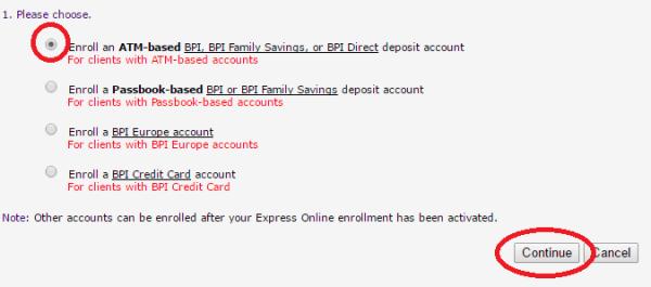 BPI-express-online-enrollment-account
