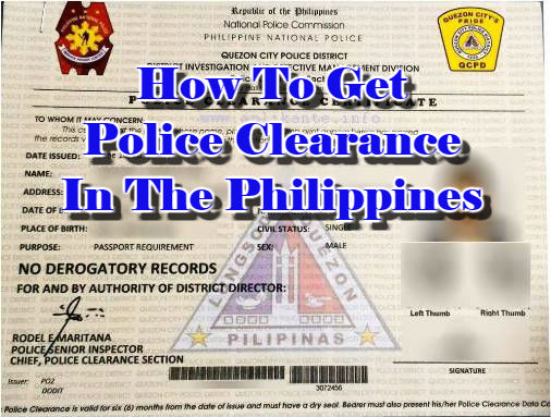 How To Get Police Clearance In The Philippines