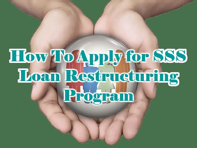SSS Loan Restructuring Program 2018