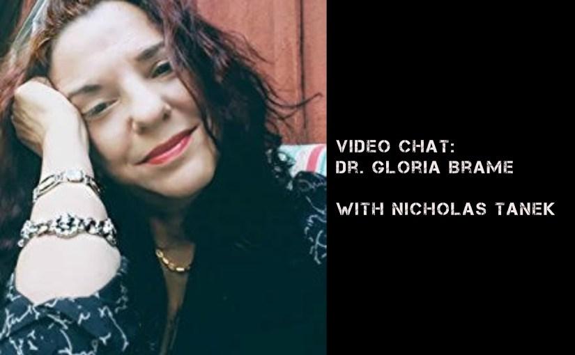 VIDEO CHAT: Dr. Gloria Brame w/  Nicholas Tanek