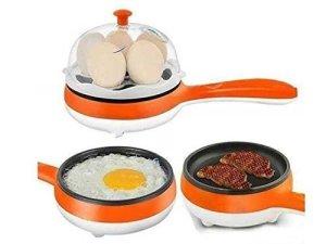 HariHub Multifunction 2 in 1 Electric Egg Boiler
