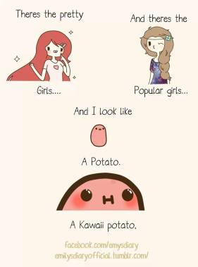 pretty girls kawaii meme