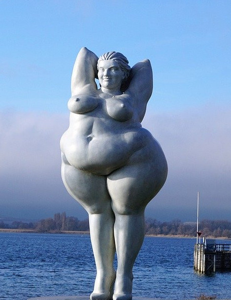 Obese lady is just that in energy is everything
