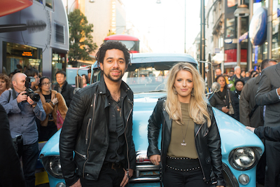 The Shires Surprise Hoards Of Fans In London's Oxford Street