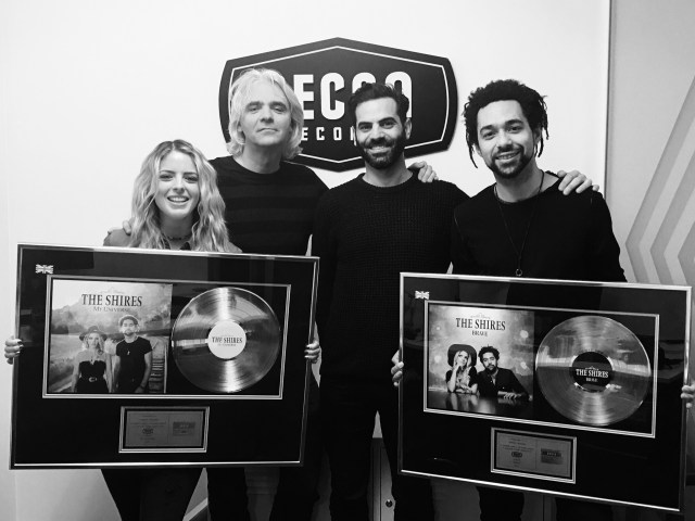 The Shires Celebrate 2nd Gold Album And Announce Release Of New Single 'Drive'