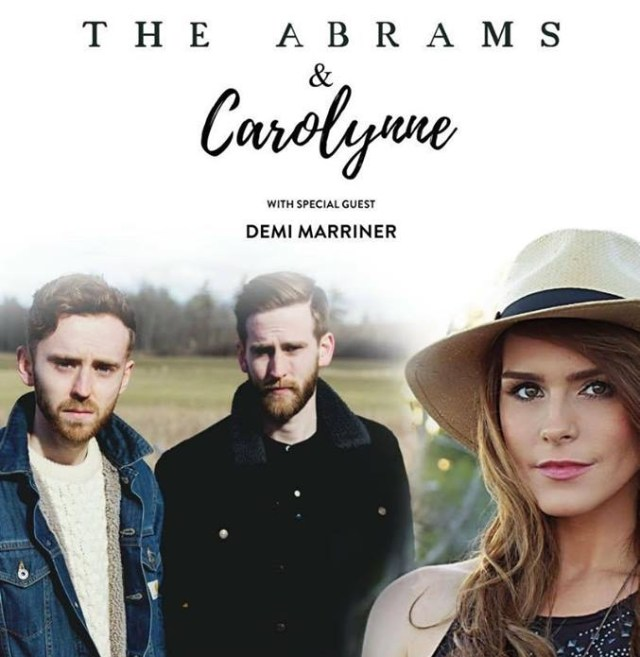 REVIEW: Carolynne/The Abrams – Live At Gullivers, Manchester