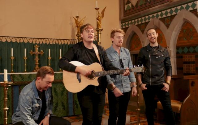 Millport Cathedral Session: Danny McMahon – 'Pushing My Hands Down'
