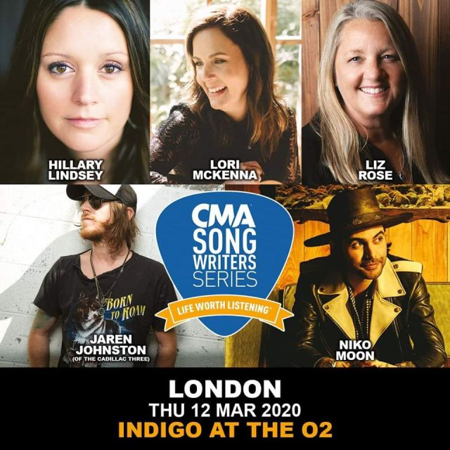 Line-Up Announced For CMA Songwriters Series 2020