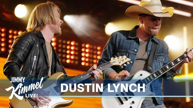 Dustin Lynch Debuts New Single 'Momma's House' On Jimmy Kimmel Live