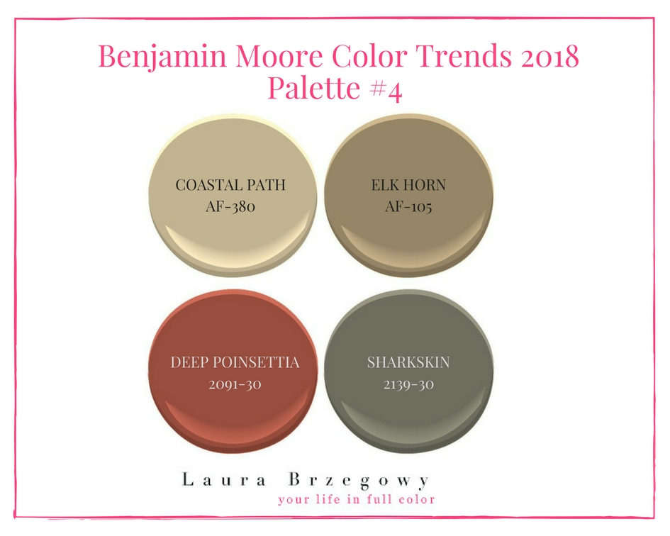 100 2018 Color Trends Caliente Af Benjamin Moore