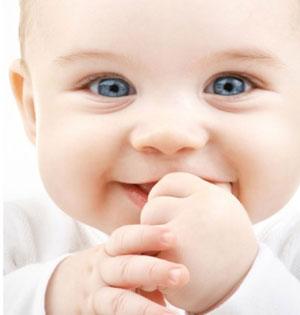Baby in LifeWay Church nursery
