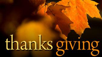 LifeWay Church Current Series Thanks Giving