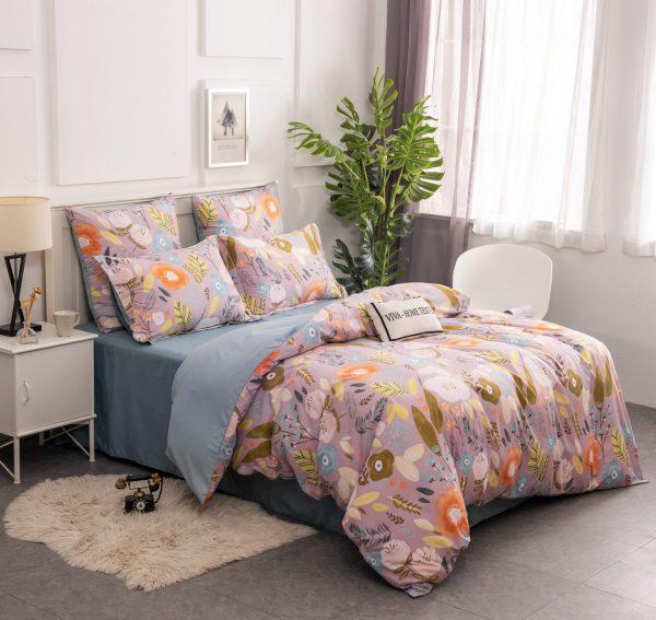 Комплект постельного белья Сатин вышивка CNR134