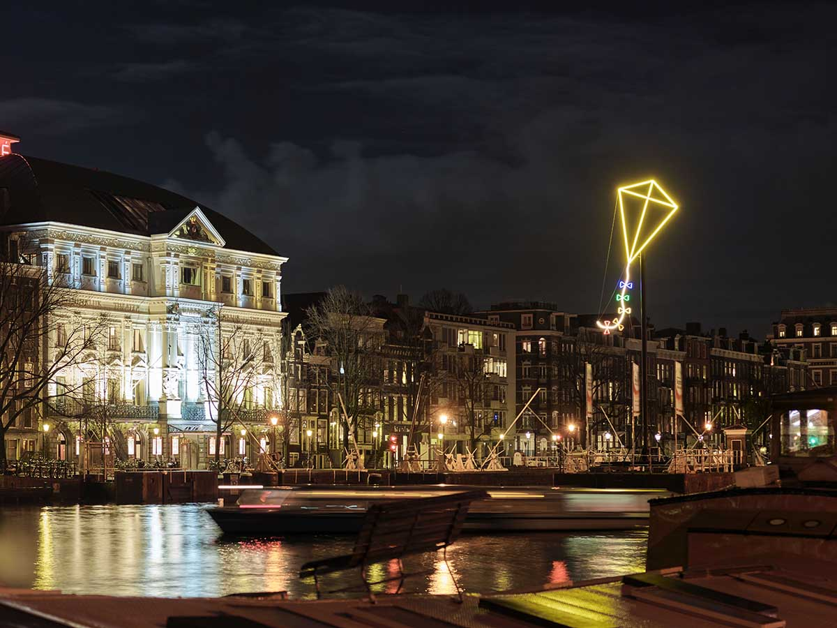 Verlichting Festival Amsterdam Amsterdam Light Festival 2015 28 November 17 Januari