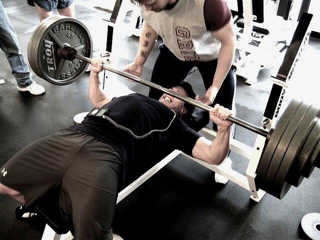 Image result for bench press lowering