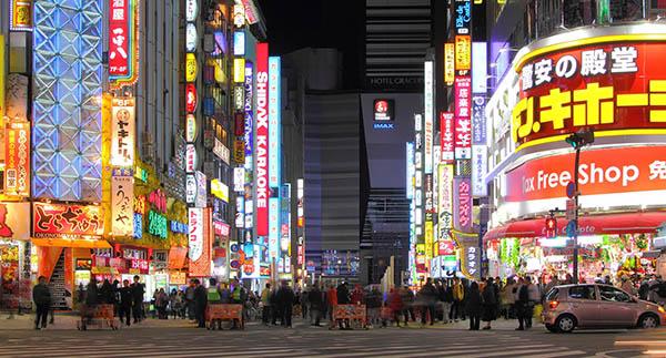 新宿、歌舞伎町