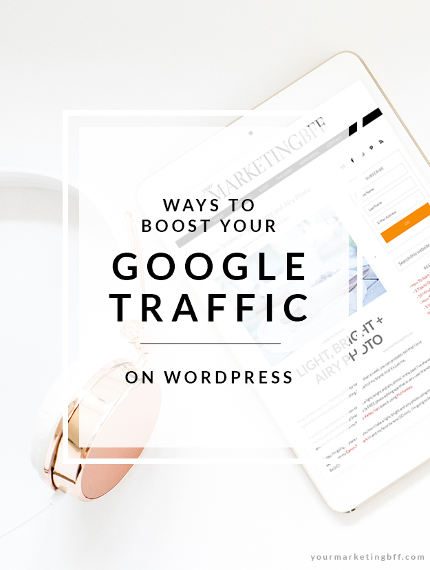 5 Ways to Boost your Google Traffic on Wordpress