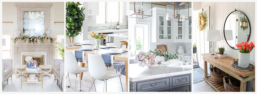 8 SPRING HOME TOUR DECORATING IDEAS
