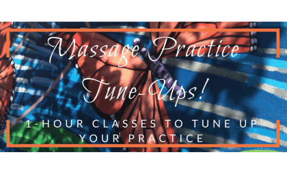 massage practice tune-up