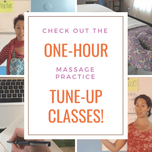 massage practice tune-up classes