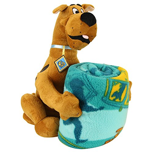 Kids Character Throw Blanket and Pillow Set Scooby Doo