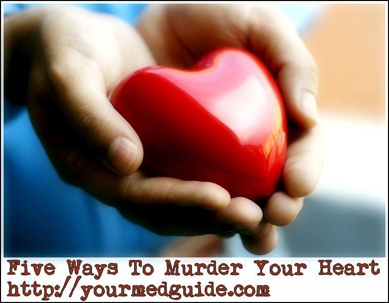 five ways to murder your heart vidya sury
