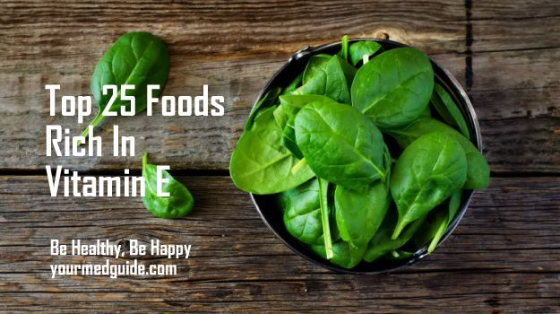 Top 25 Foods Rich In Vitamin E Vidya Sury