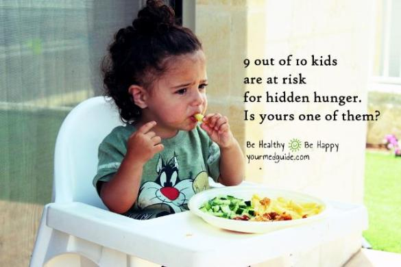 9 out of 10 kids are at risk of hidden hunger. Is yours one of them?