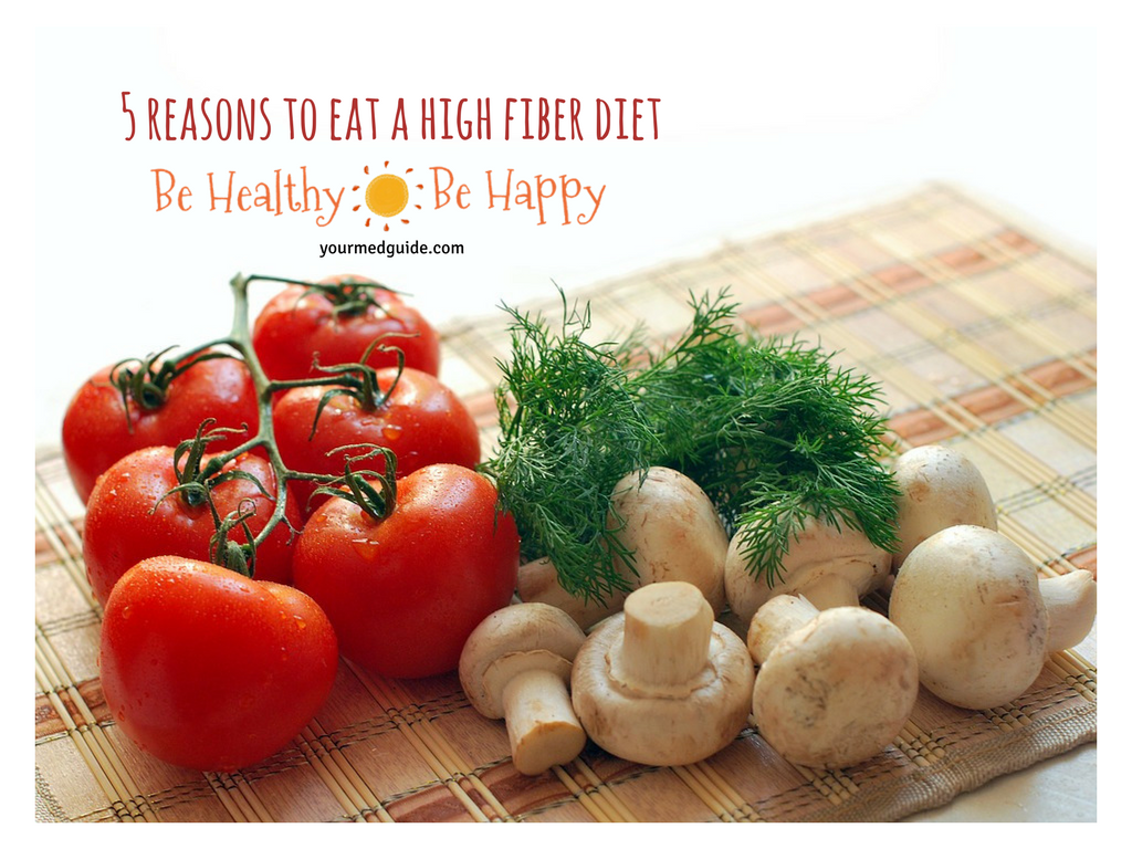 Five Reasons You Should Eat A High Fiber Diet Be Healthy