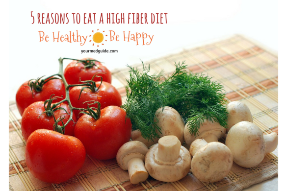 5 reasons to eat a high fiber diet