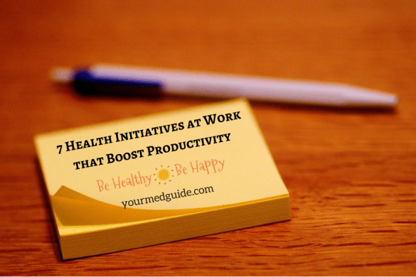 7 Health Initiatives at Work that Boost Productivity