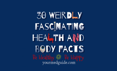 30 weird and wonderful facts about our body #didyouknow #health #life