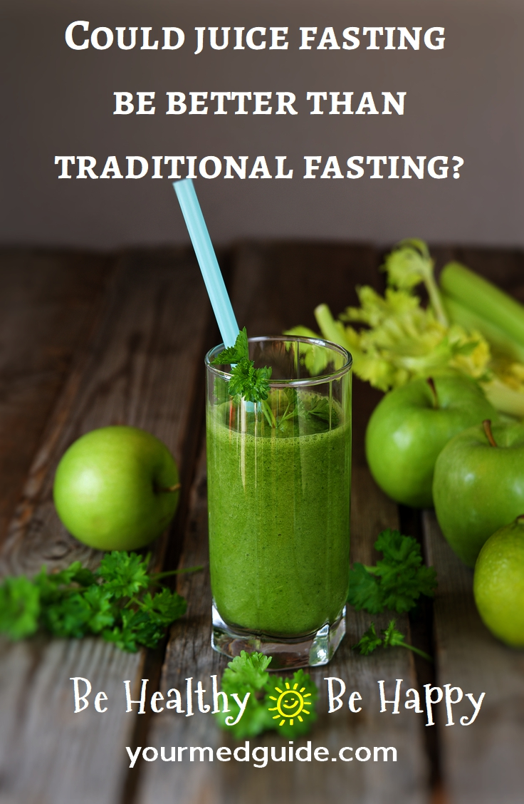 Could juice fasting be better than traditional fasting