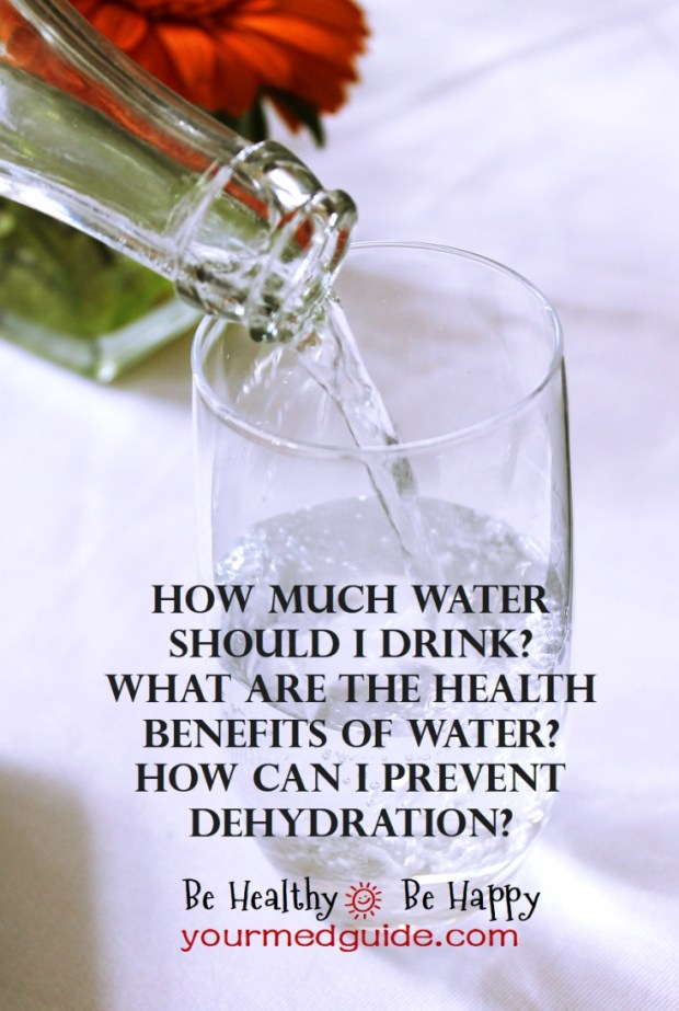 How much water should I drink? What are the health benefits of water? How to prevent dehydration? #healthbenefits