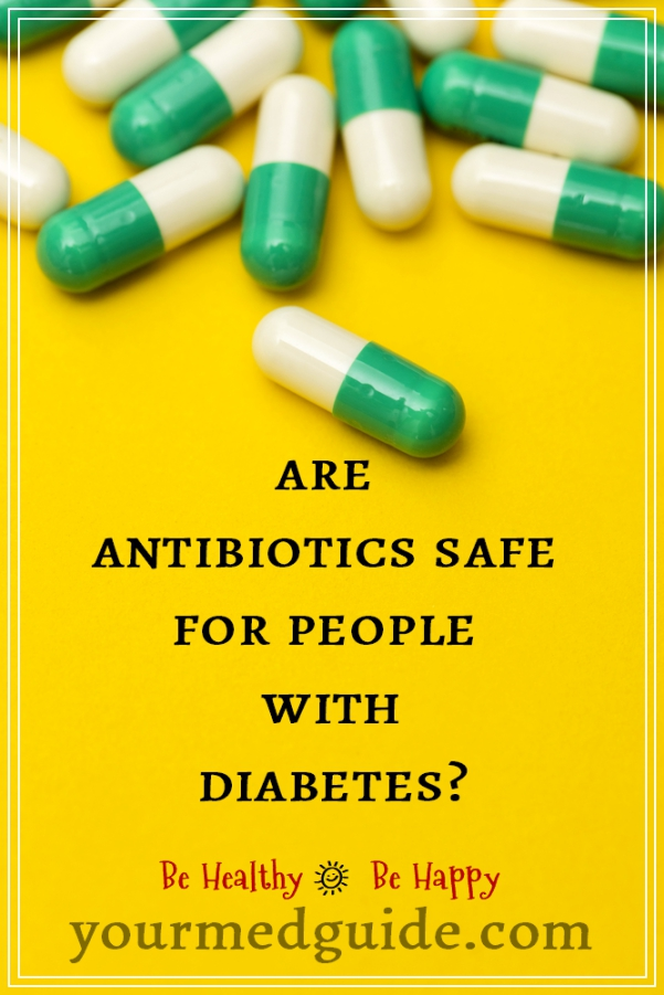 Are antibiotics safe for people with diabetes #diabetes #health
