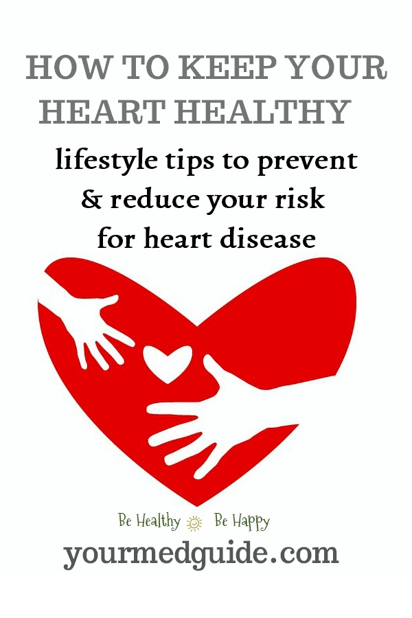 Keeping your heart healthy - lifestyle tips to prevent and reduce your risk for heart disease #WorldHeartDay #HeartHealth #HealthyHeart #MyHeartYourHeart