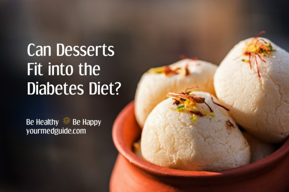 Can Desserts Fit into the Diabetes Diet? #diabetes #diabetesdiet #livingwithdiabetes