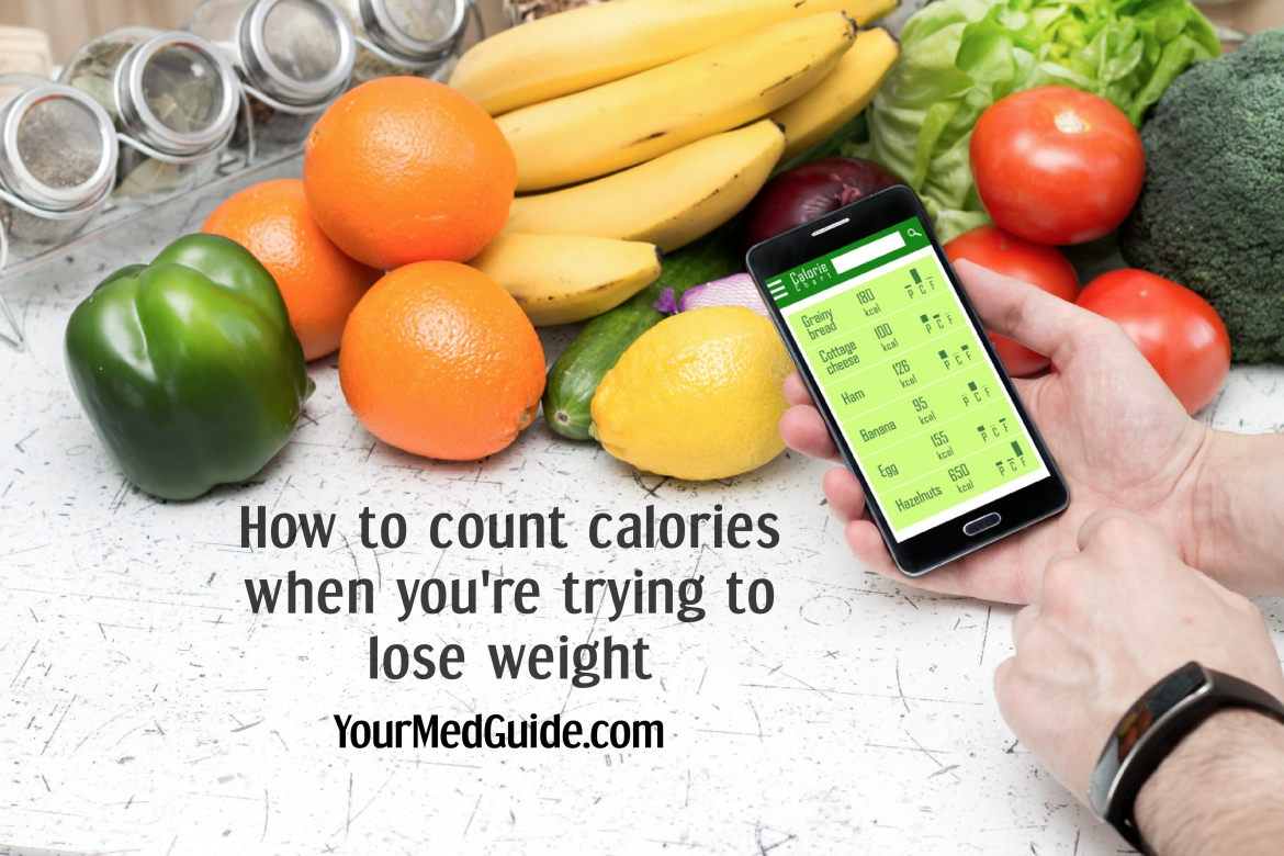 Counting calories? How to count calories when you are trying to lose weight