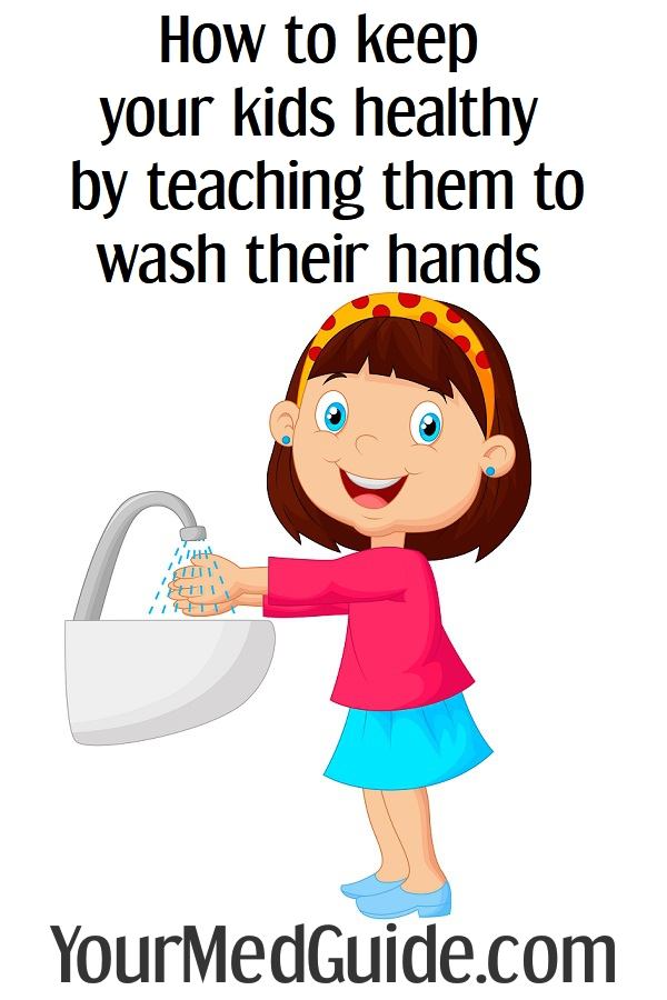 How to keep your kids healthy by teaching them proper handwashing technique
